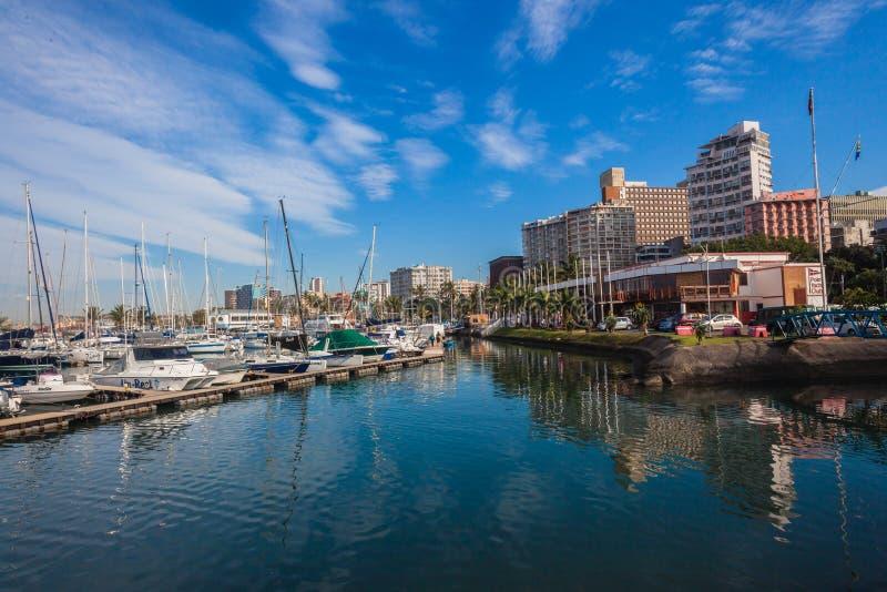Porto dei crogioli di yacht club di Durban fotografie stock