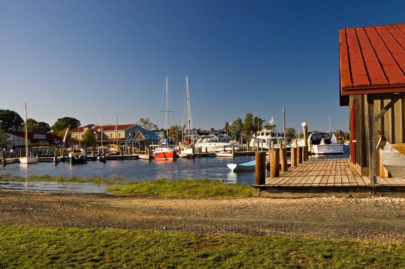 Porto del Chesapeake fotografia stock libera da diritti