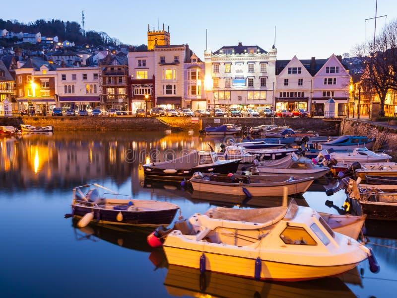 Porto del Dartmouth immagine stock libera da diritti