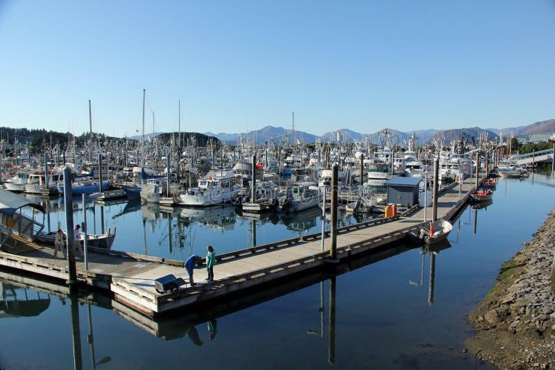Porto del Kodiak fotografie stock libere da diritti