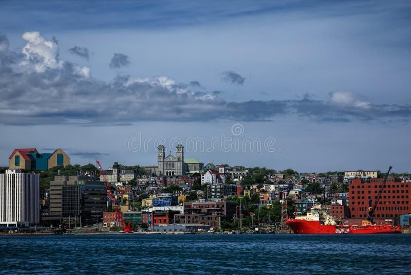 Porto del ` s di St John fotografie stock libere da diritti
