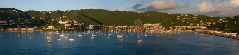 Porto del St-Thomas fotografia stock