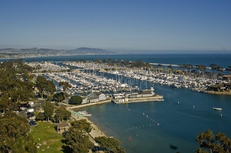 Porto dell'yacht del Dana Point fotografia stock libera da diritti