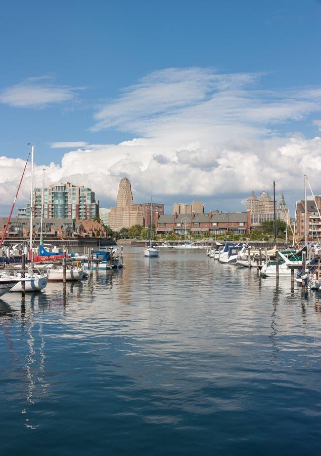 Porto della Buffalo fotografia stock libera da diritti
