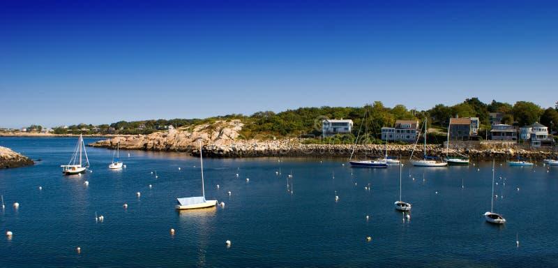 Porto della Nuova Inghilterra fotografie stock
