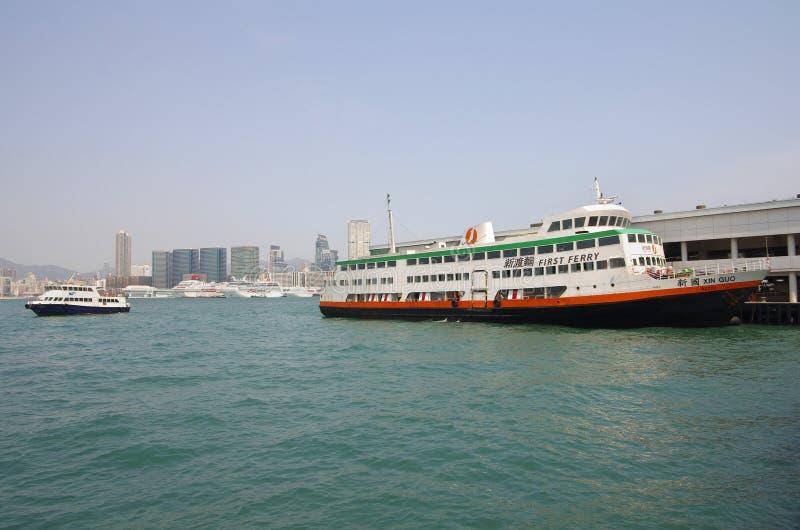 Porto della Victoria a Hong Kong fotografia stock libera da diritti