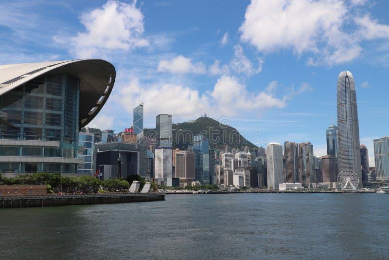 Porto della Victoria, Hong Kong immagini stock libere da diritti