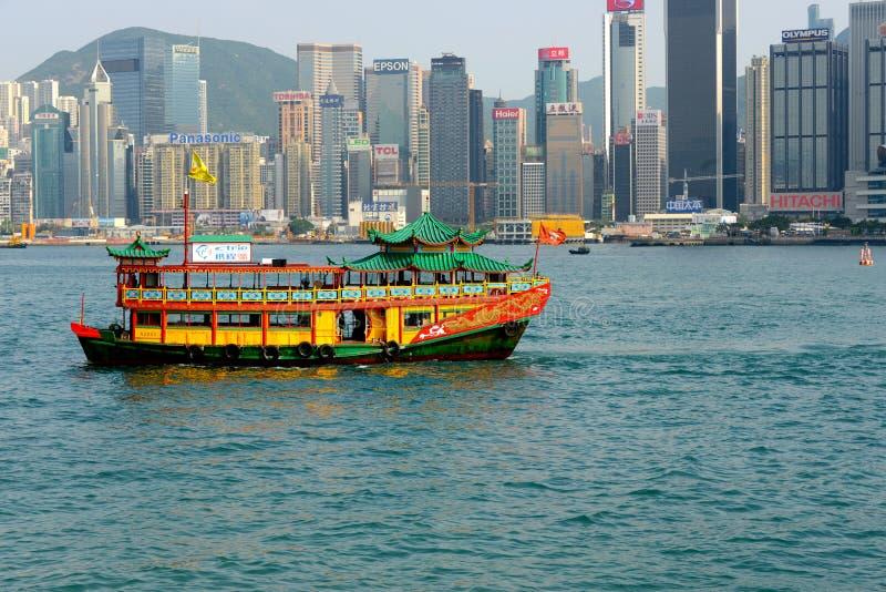 Porto della Victoria a Hong Kong immagini stock libere da diritti