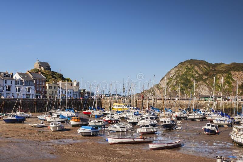 Porto Devon de Ilfracombe fotos de stock