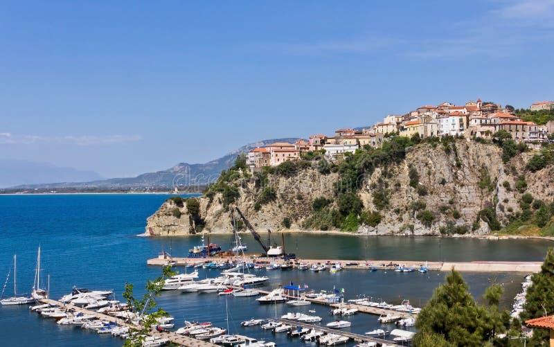 Porto Di Agropoli een Salerno stock fotografie