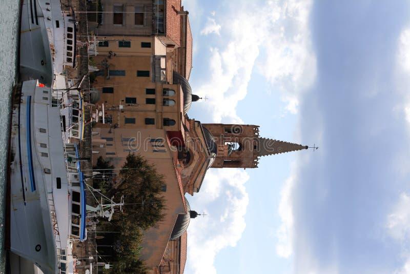 Porto di Alghero immagini stock libere da diritti