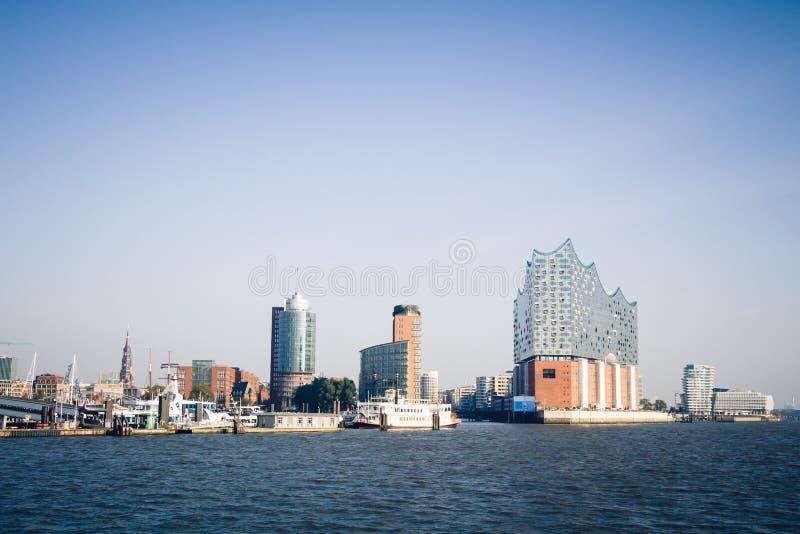Porto di Amburgo fotografia stock libera da diritti