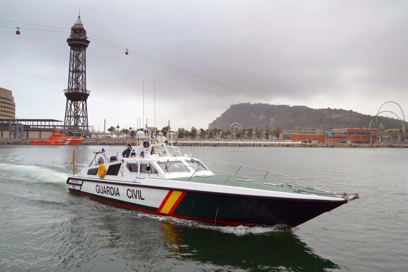 Porto di Barcellona immagine stock libera da diritti