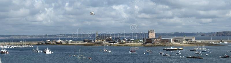 Porto di Camaret fotografie stock libere da diritti
