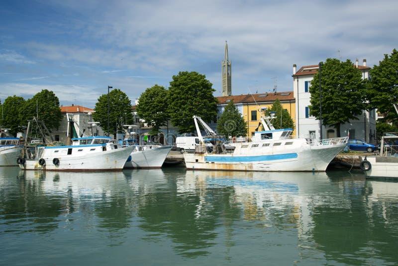 Porto di Cattolica photo stock