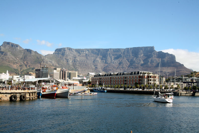 Porto di Città del Capo fotografie stock libere da diritti