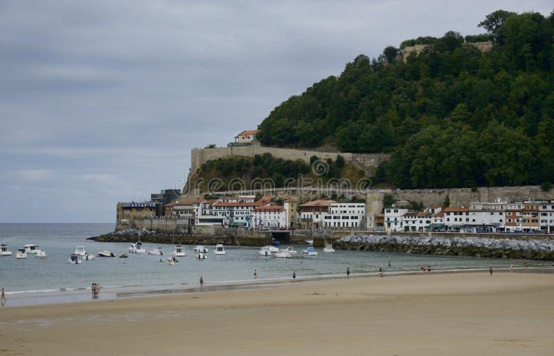Porto di Donosti San Sebastian Spain fotografia stock libera da diritti