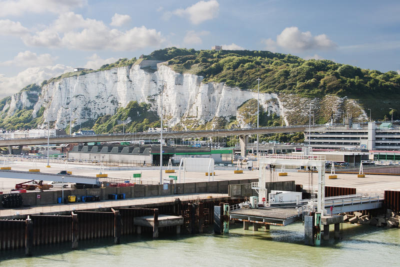 Porto di Dover fotografie stock