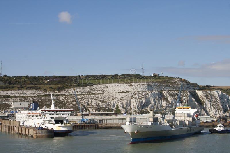 Porto di Dover fotografia stock
