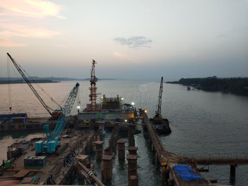 Porto di Goa fotografie stock