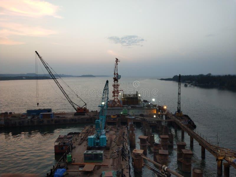 Porto di Goa immagine stock libera da diritti