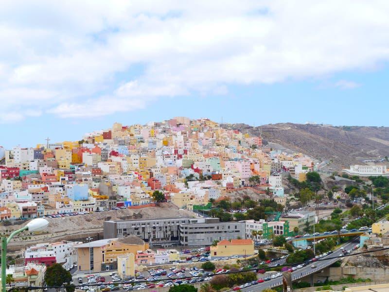 Porto di Gran Canaria fotografia stock libera da diritti