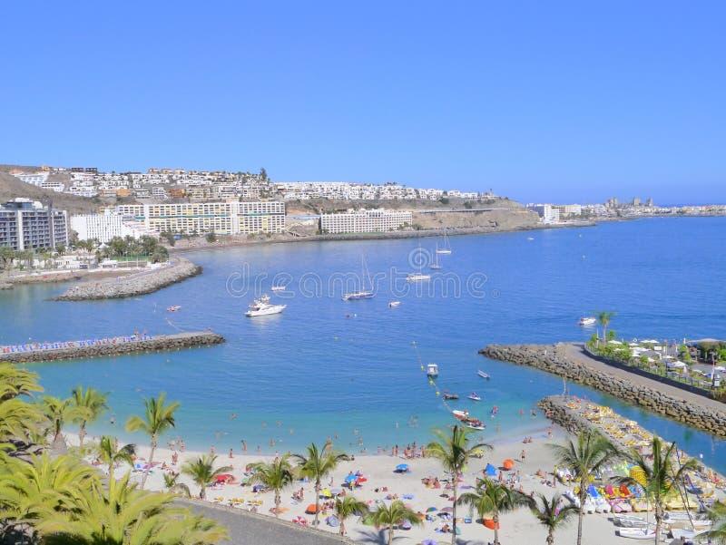 Porto di Gran Canaria fotografie stock libere da diritti
