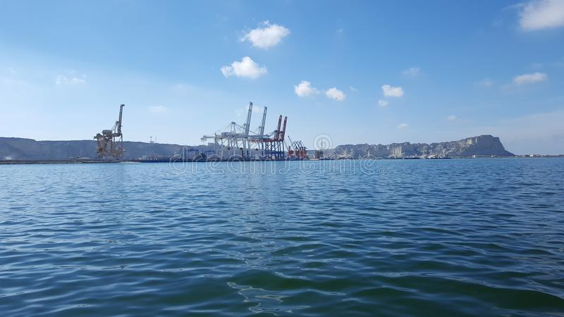 Porto di Gwadar fotografie stock