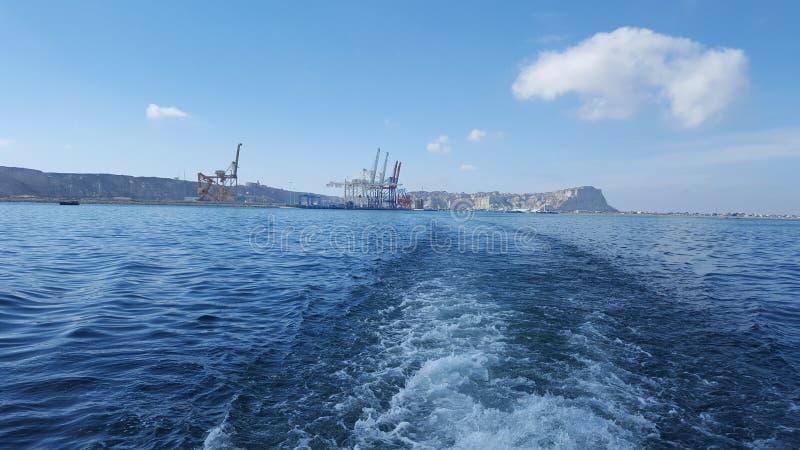 Porto di Gwadar fotografia stock libera da diritti