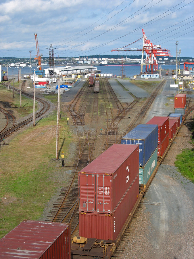 Porto di Halifax immagine stock