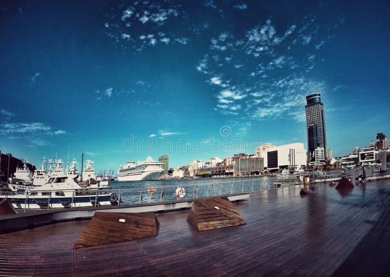 Porto di Keelung fotografia stock