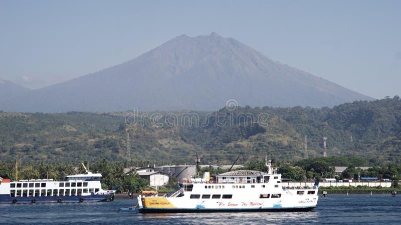 Porto di Ketapang, Banyuwangi, East Java immagine stock