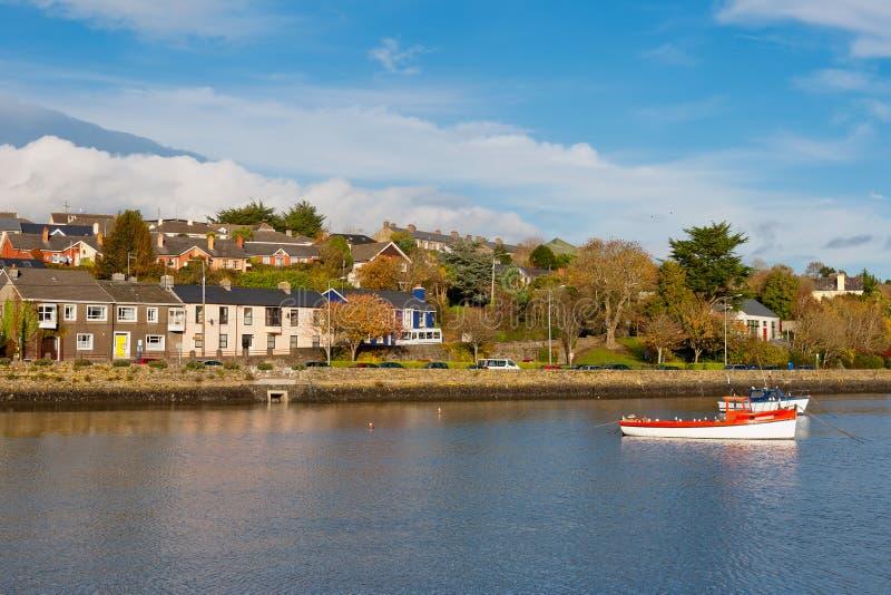 Porto di Kinsale. L'Irlanda fotografia stock libera da diritti