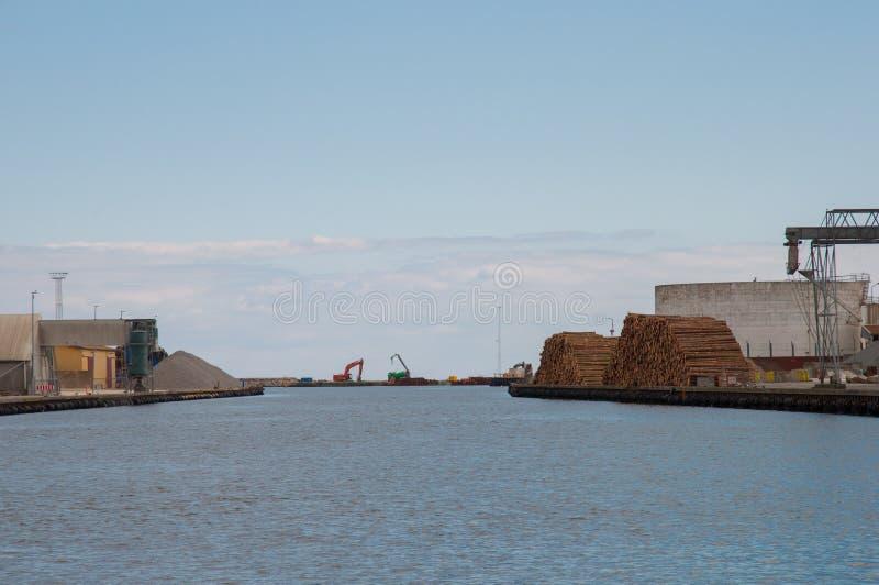 Porto di Koge in Danimarca immagini stock