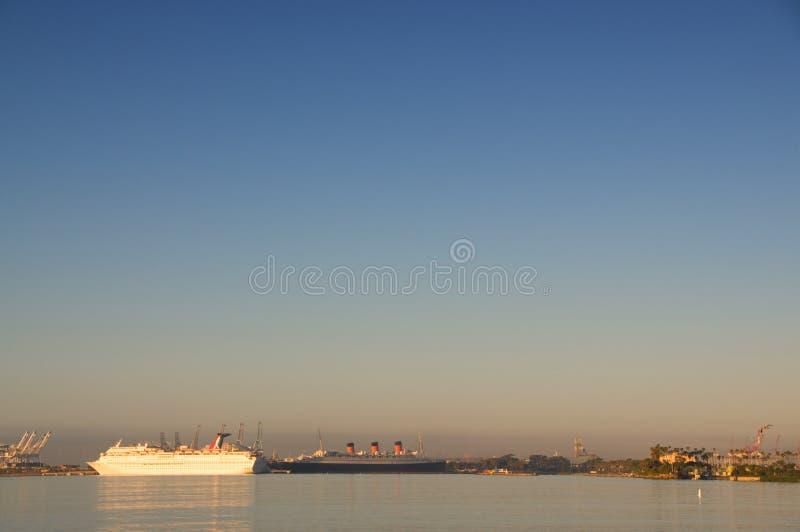 Porto di Long Beach fotografia stock