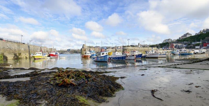Porto di Newquay fotografia stock libera da diritti