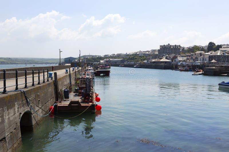 Porto di Padstow, Cornovaglia, Regno Unito fotografie stock