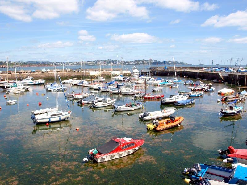 Porto di Paignton e di Torbay, Devon immagini stock libere da diritti