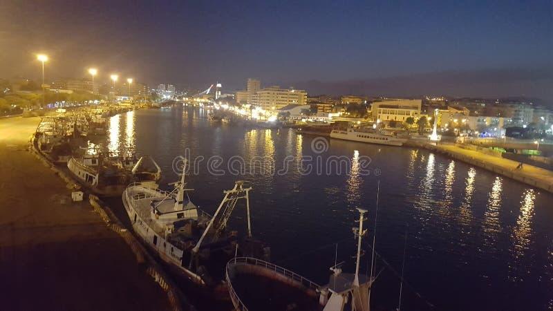Porto di Pecara imagem de stock royalty free
