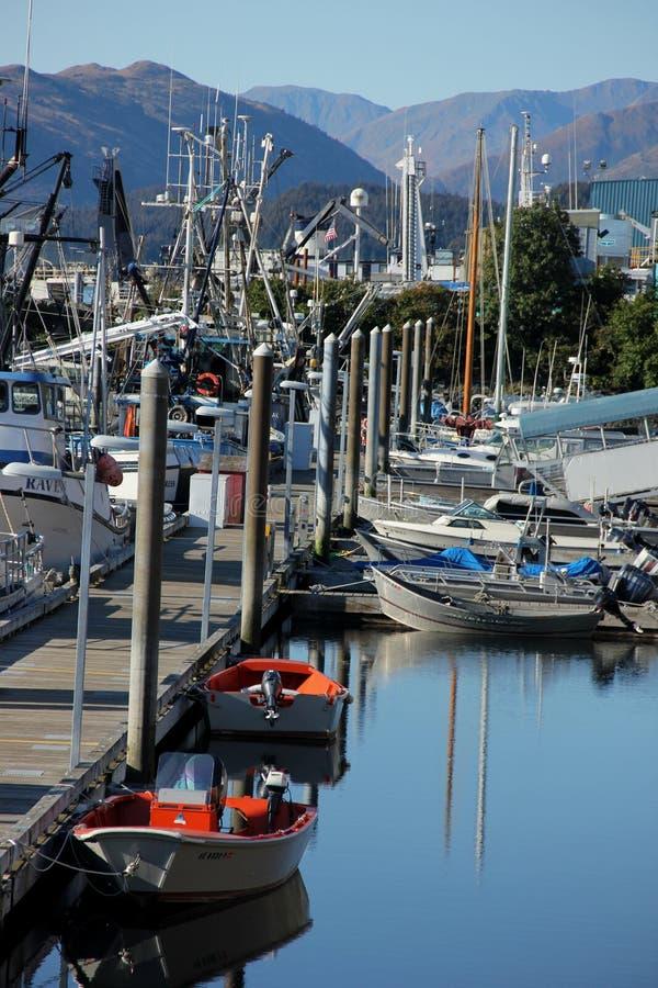 Porto di pesca fotografie stock libere da diritti