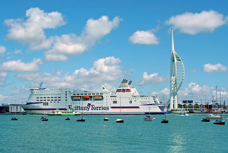 Porto di Portsmouth fotografia stock libera da diritti