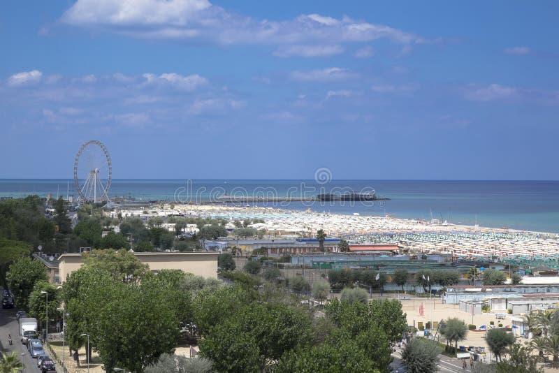 Porto di Rimini fotografie stock libere da diritti
