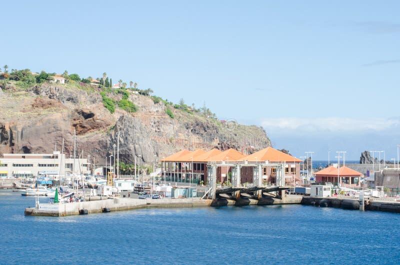Porto di San Sebastian de La Gomera fotografia stock