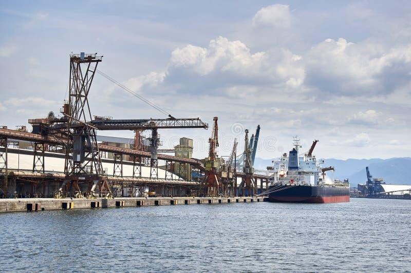 Porto di Santos fotografia stock libera da diritti