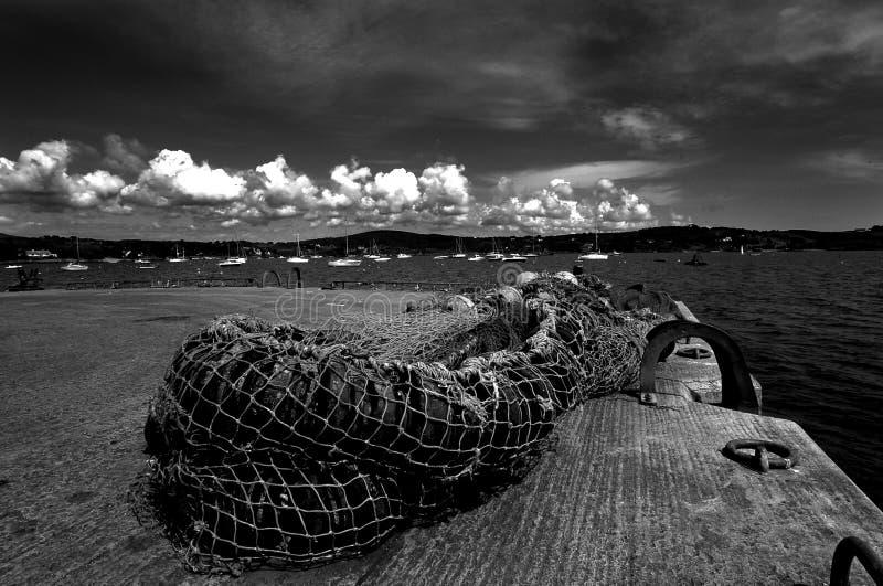 Porto di Schull, sughero ad ovest fotografie stock libere da diritti