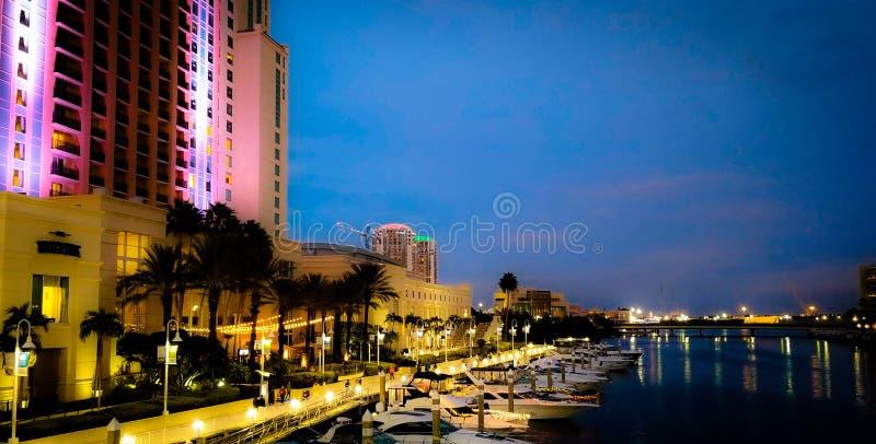 Porto di Tampa Bay fotografie stock