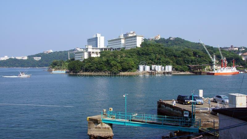 Porto di Toba, prefettura di Mie nel Giappone immagini stock libere da diritti