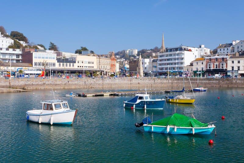 Porto di Torquay fotografia stock libera da diritti