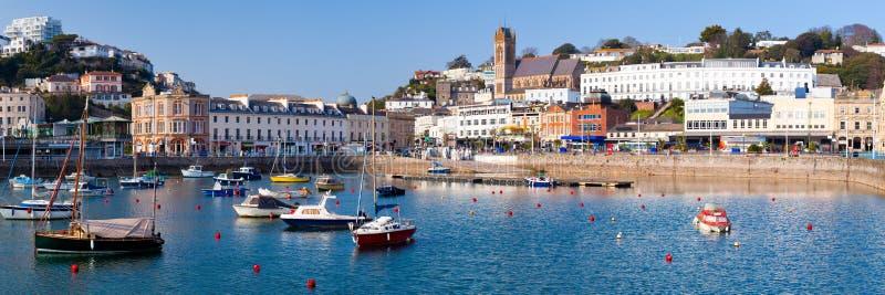 Porto di Torquay immagini stock libere da diritti