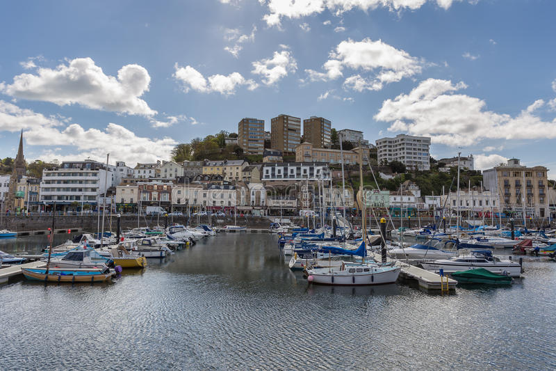 Porto di Torquay fotografie stock